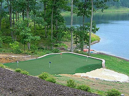 No matter your backyard or any desired space, Putters Edge will work with you to find an amazing solution to your putting green project.