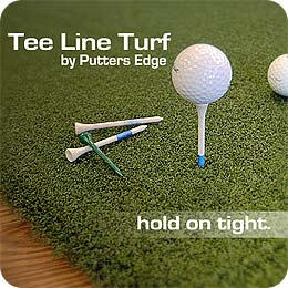 Putters Edge PAR Turf - Pure Absolute Roll Putting Green Turf