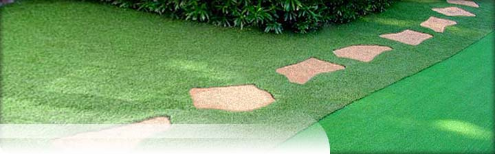 Putters Edge Synthetic Lawns: EdgeLawn Artificial Grass yard turf