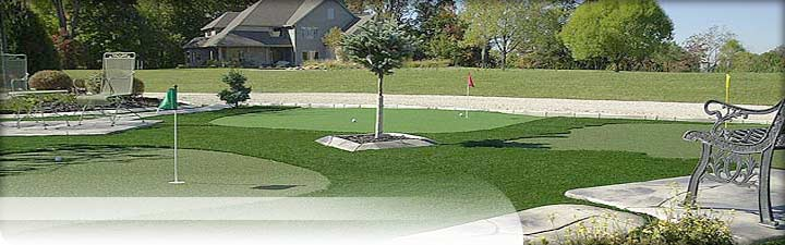 Putters Edge Custom Putting Greens: Golf Turf Dealers - putting green installation