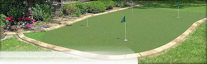 Putters Edge Custom Putting Greens: Store - eCommerce: Buy putting greens
