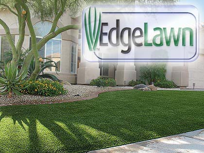 EdgeLawn synthetic yard turf for beautiful artificial grass lawns, front yard lawns, or backyard play areas.